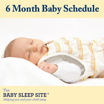 6 Month Old Baby Schedule