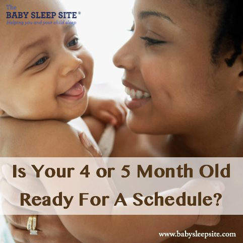 Is Your 4 or 5 Month Old Baby Ready For A Schedule?